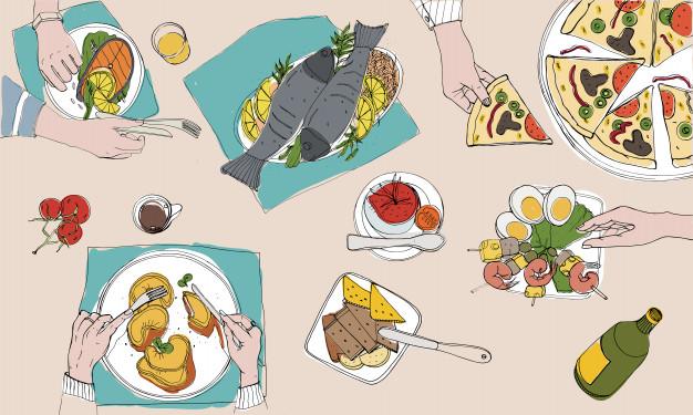tavola-festiva-tavola-apparecchiata-illustrazione-variopinta-disegnata-a-mano-di-feste-vista-superiore_198278-133